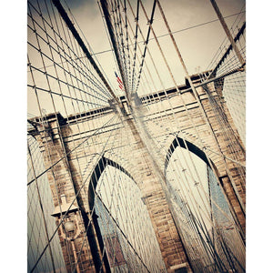 Pathway | Brooklyn Bridge Wall Art-Tracey Capone Photography