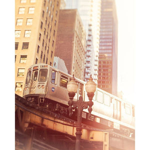 2712 | Chicago CTA Loop Train-Tracey Capone Photography