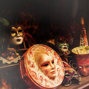 Photograph Of Venetian Masks | Venice Travel Photography Tracey Capone Photography