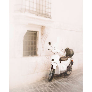 Roma | White Scooter In Rome-Tracey Capone Photography