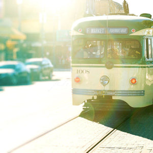 | San Francisco Street Car-Tracey Capone Photography