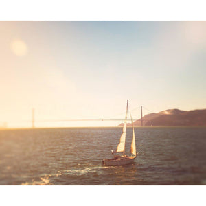 Set Adrift | Boat in San Francisco-Tracey Capone Photography