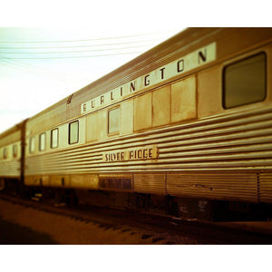 Silver Ridge | Retro Inspired Train Art-Tracey Capone Photography