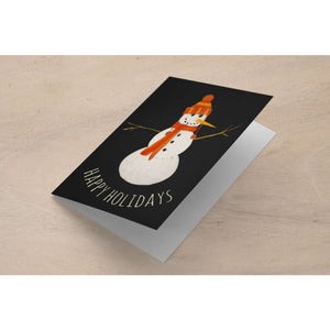 Snowman Holiday Card | A2 Size Holiday Cards