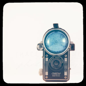 Spartus | Vintage Camera Photograph-Tracey Capone Photography