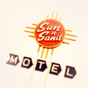 Sun n Sand | Route 66 Motel Sign-Tracey Capone Photography