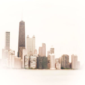 Surround | Abstract Chicago Skyline-Tracey Capone Photography