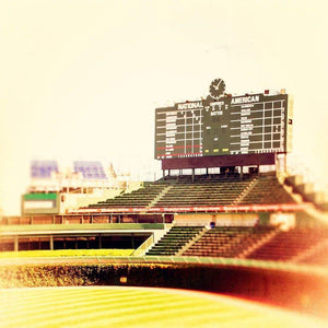 The Bleachers | Wrigley Field Photography-Tracey Capone Photography