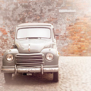 The Fiat | Vintage Car in Rome-Tracey Capone Photography