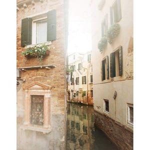 The Narrow Path | Venice, Italy Canals-Tracey Capone Photography