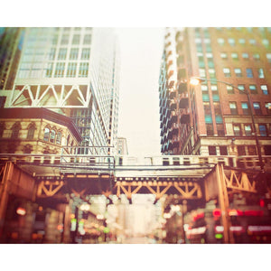 The Pass | Chicago L Train Photograph-Tracey Capone Photography