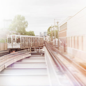 To Fullerton | Chicago Red Line Train-Tracey Capone Photography