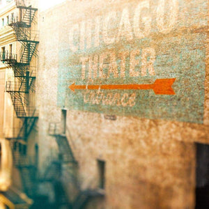 To State Street | Chicago Theater Sign-Tracey Capone Photography