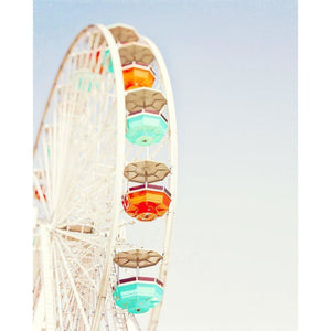 Touch the Sky | Ferris Wheel Photograph-Tracey Capone Photography