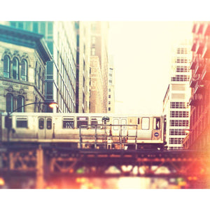 Washington Block | Chicago CTA L Train-Tracey Capone Photography