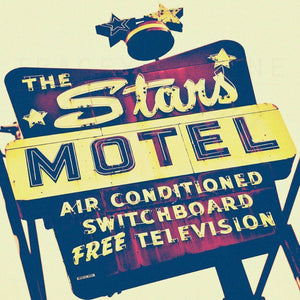 We're All Made of Stars | Chicago Motel Sign-Tracey Capone Photography