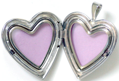 "Sterling Silver ""One in a Million Mom"" Heart locket"