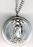 our lady of guadalupe rosary box pendant