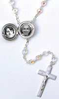 Miraculous Locket Rosary Beads