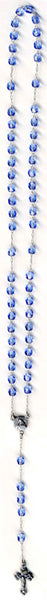 "11"" Czech Glass Rosary Beads"