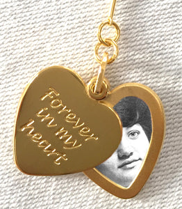 Forever In My Heart Slide Locket Necklace