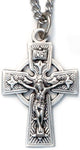 Sterling Silver Ornate Crucifix