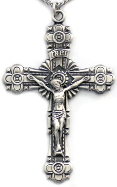 Sterling Silver Large Crucifix