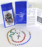World Peace Mysteries Rosary Bead package