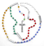 World Peace Mysteries Rosary Beads