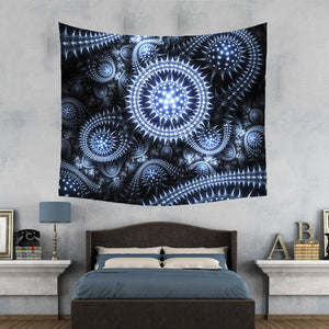 NEON CELL TAPESTRY