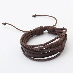 Real  Leather Vintage Bracelet