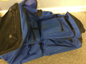 Blue Duffel Bag