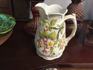 Ceramic Floral Pitcher