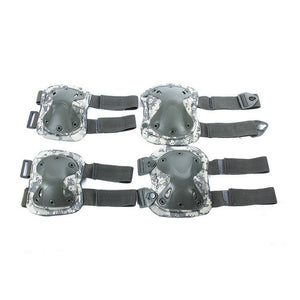 Elbows Knees Protective Safety Gear Pads Guard Set