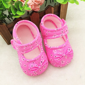 Cute Baby Shoes Newborn First Walkers 2017 Spring Sneakers Toddler Infant Shoes for Kids Non-slip Prewalker Footwear Crib Shoes