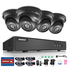 8CH 960P Night VIision Indoor Outdoor Security Cameras System with 5-in-1 DVR