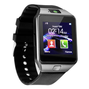 Dz09 Bluetooth Smartwatch Touch Clocks Smart Watch Wristwatch Men Facebook Pedometer