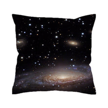 BeddingOutlet Hipster Galaxy Cushion Cover Universe Outer Space Themed Printed Pillow Cover Soft for Sofa