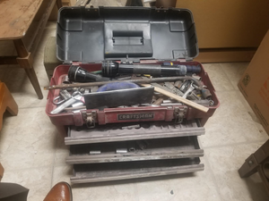 Craftsman Tool Box, full of tools