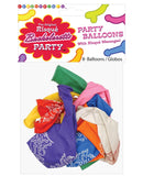 Bachelorette Risque Party Balloons - Bag Of 8