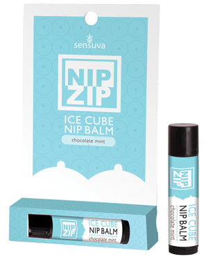 Sensuva Nip Ip Ice Cube Nip Balm - Chocolate Mint