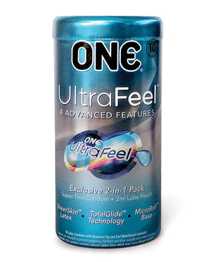 One Ultra Feel Condoms - Box Of 12