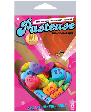 Pastease Valentines Hearts O-s
