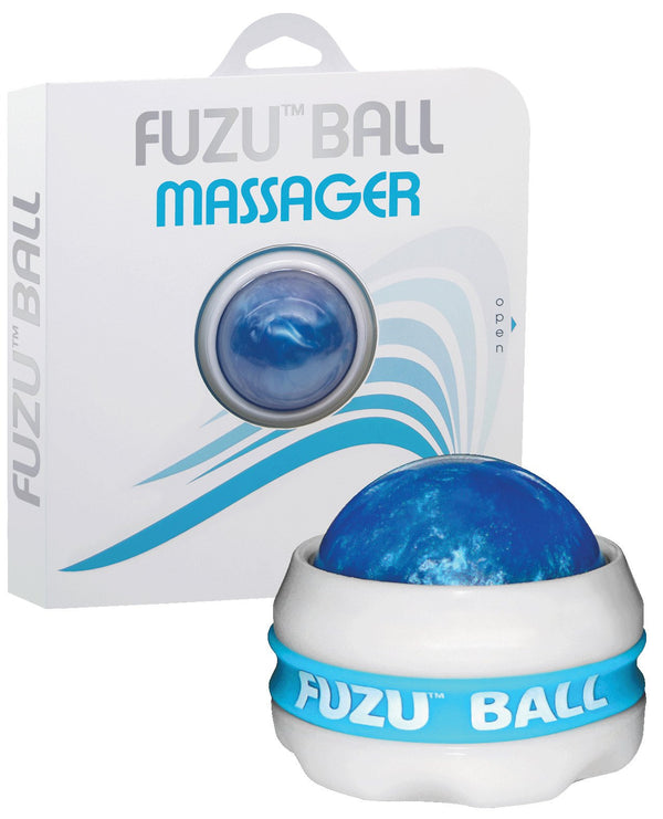 Fuzu Massage Ball - Neon Blue