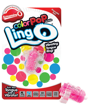 Screaming O Color Pop Quickie Lingo - Pink