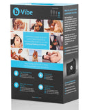 B-vibe Weighted Snug Plug 1 - .55 G Black