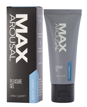 Max Arousal Pleasure Gel Regular Strength - 1.2 Oz