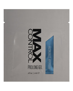 Max Control  Prolong Gel Regular Strength Foil - 2 Ml