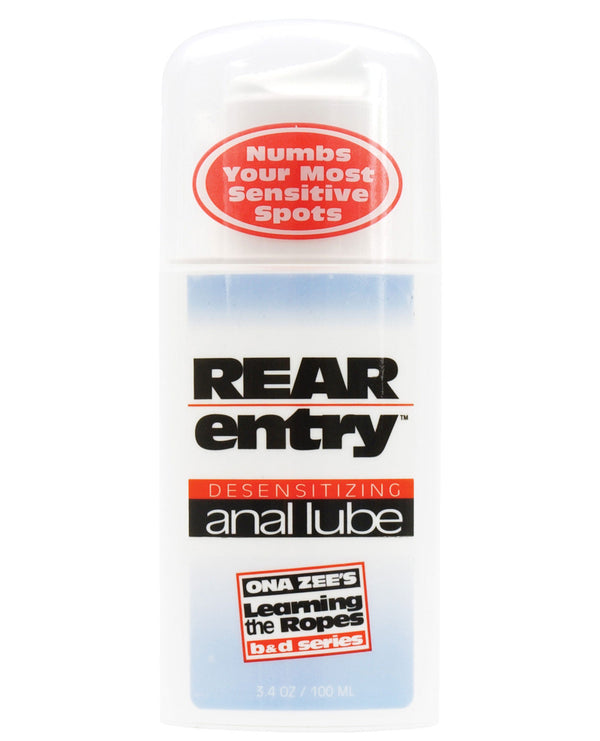 Rear Entry Desensitizing Anal Lube - 3.4 Oz