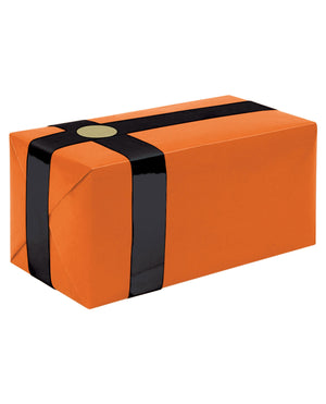 Gift Wrapping For Your Purchase (orange W-black Ribbon)-extra Day To Ship